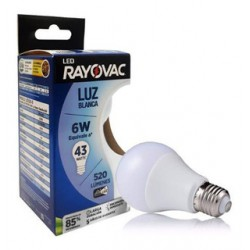 Lamparas Led 6W LED750-B RAYOVAC