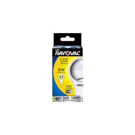 Lamparas Led 6W LED520-A RAYOVAC