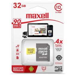 Memoria microsd 32GB MAXELL