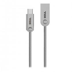 CABLE USB a Lightning IRON FLEX